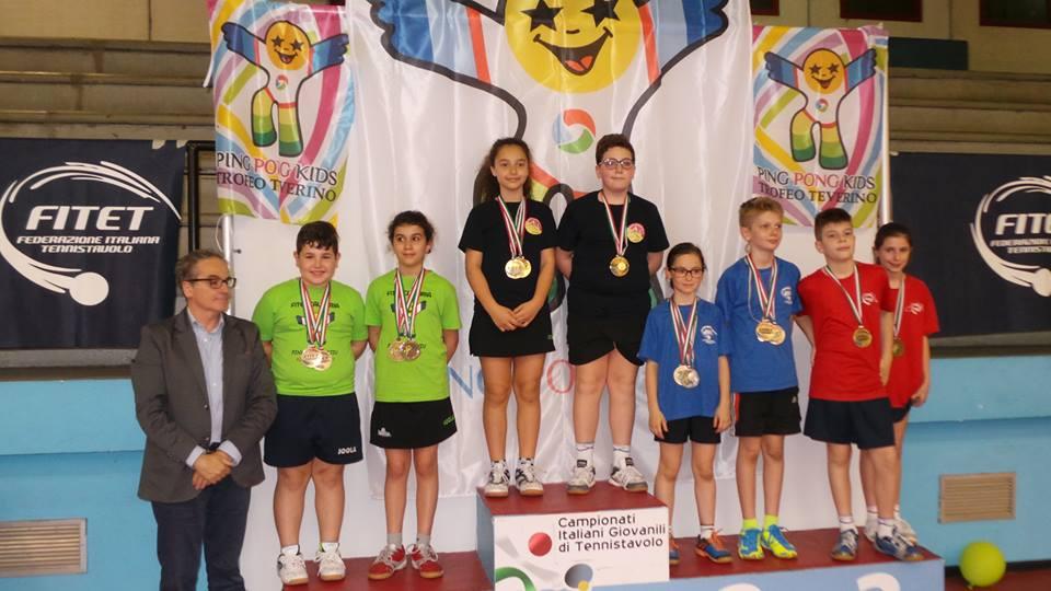 GIULIA PALMISANO - DANIELE SPAGNOLO I CL. DOPPIO MISTO (G2 2007-2008) Primi al Trofeo Teverino