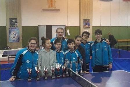 II Torneo Regionale Giovanile di Tennistavolo
