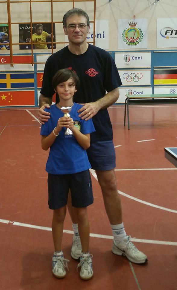 .....Pietro Violante ( terzo classificato torneo under 10)