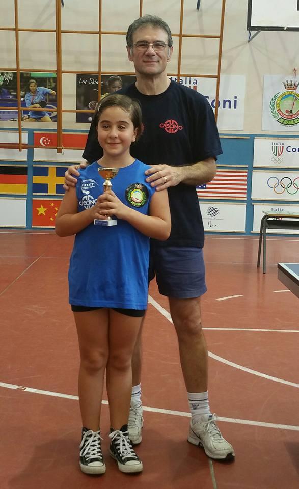 .....Martina Viso (seconda classificata torneo under 10)