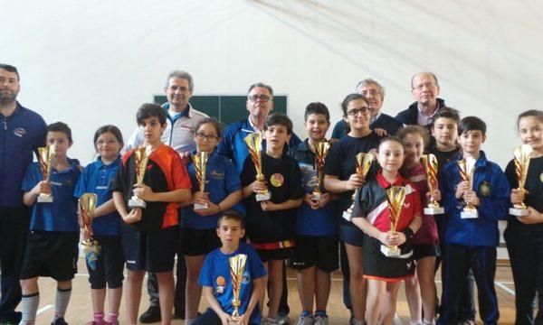Fase regionale dell'edizione 2016 del Ping Pong Kids Trofeo Teverino