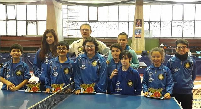 Tutti i partecipanti al campionato regionale
