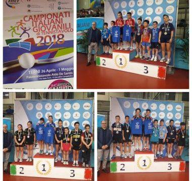 Campionati Italiani Giovanili, prima giornata