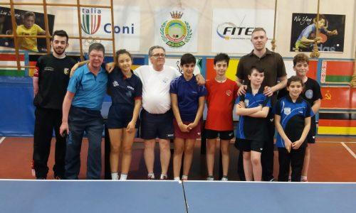 Stage in preparazione dei Campionati Italiani Giovanili