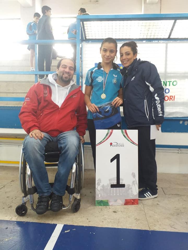 Chiara Onizzi: Campionessa Provinciale Cat. Juniores 2018-2019