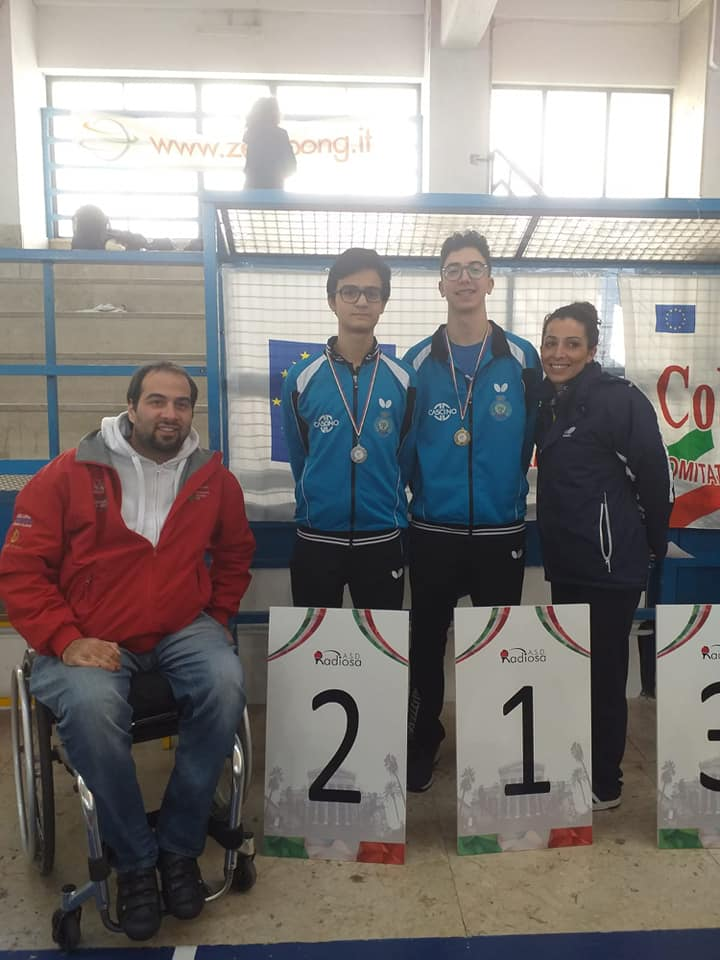 Angelo Di Lisi: Campione Provinciale Cat. Juniores 2018-2019; Claudio Casà II CL