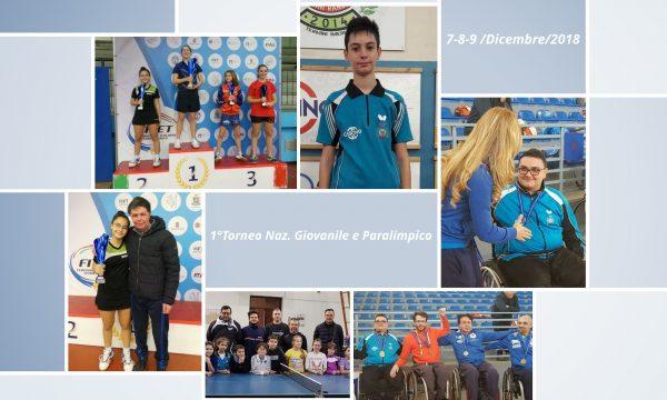 1° Torneo Nazionale Giovanile e Paralimpico