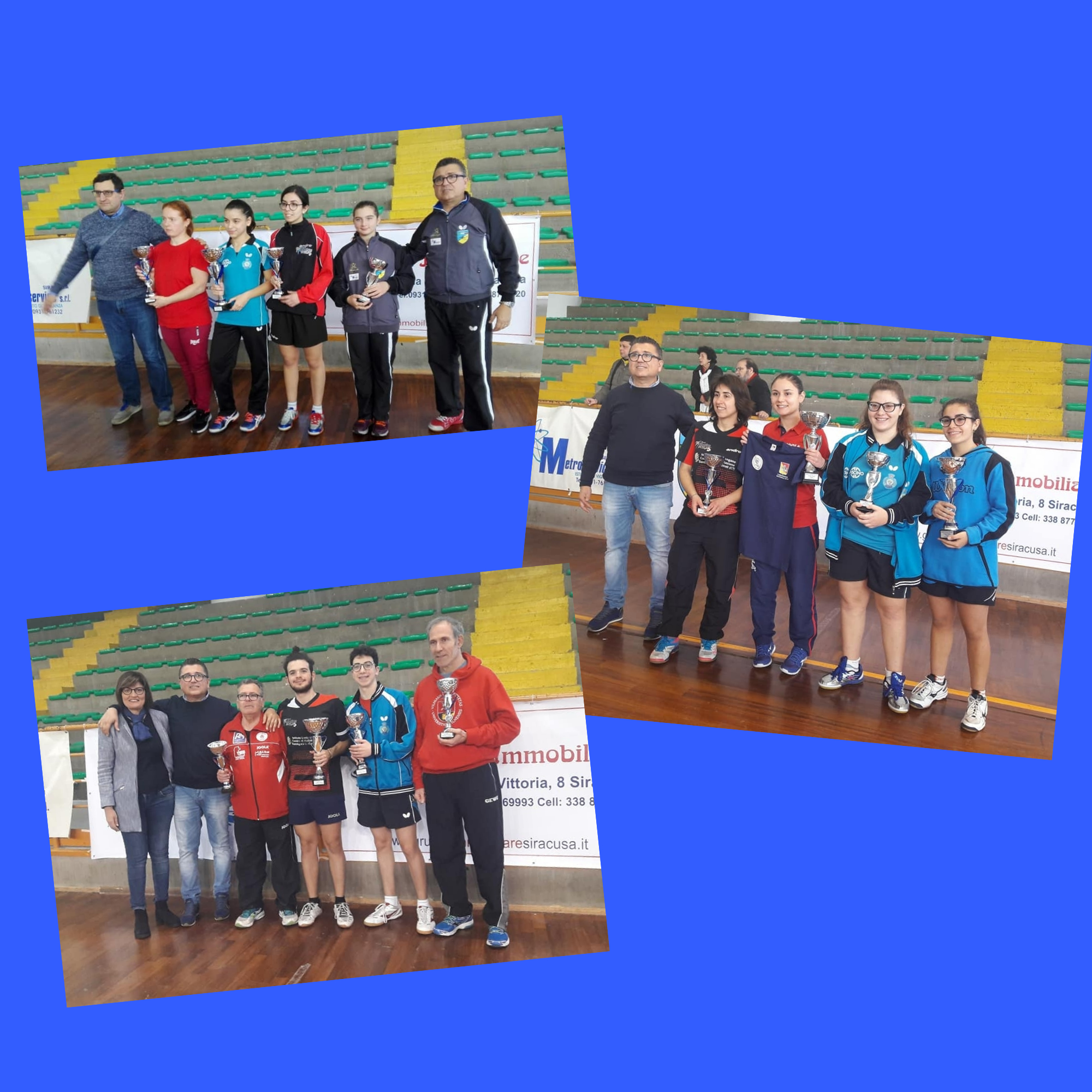 Campionati Regionali di Tennistavolo di Categoria 2018/2019