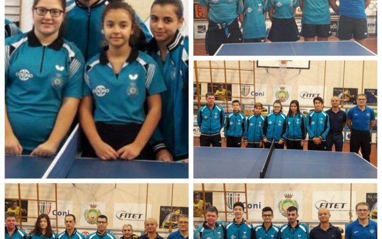 Conclusa la stagione agonistica dei Campionati a Squadre per L'ASD Tennistavolo Himera G. Randazzo