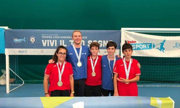 La Sicilia del Tennistavolo conquista la Medaglia d'Oro al Trofeo CONI