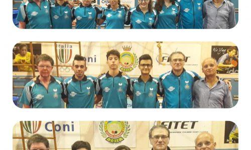 Seconda giornata del girone di andata dei Campionati a squadre di Tennistavolo.