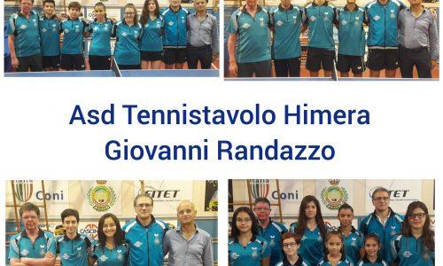 Tre vittorie e tre sconfitte nel weekend per l'Asd tennistavolo Himera Giovanni Randazzo.