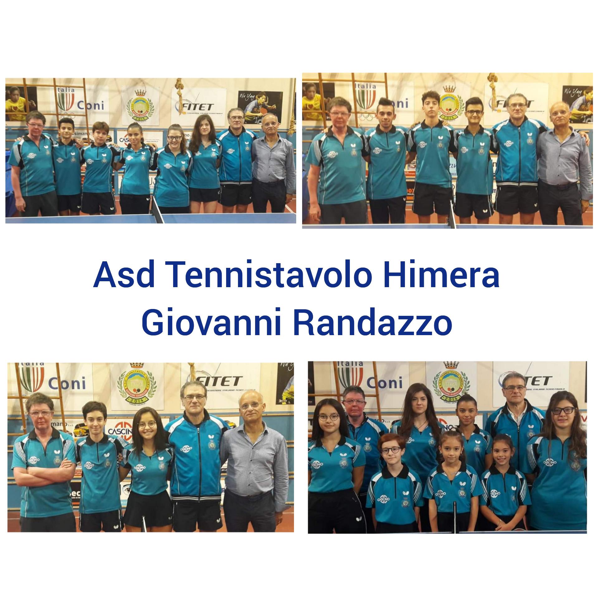 Tre vittorie e tre sconfitte nel weekend per l'Asd tennistavolo Hinera Giovanni Randazzo.