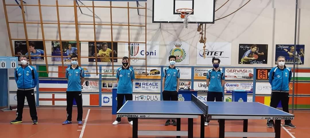 Campionato Nazionale di Tennistavolo di Serie C1 Maschile.