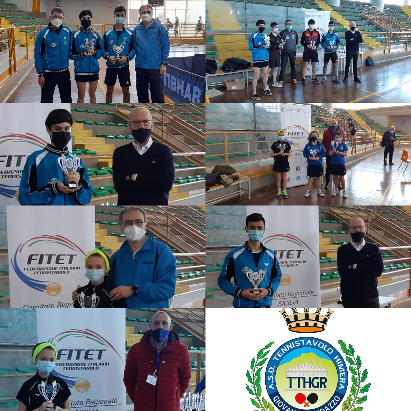 II Torneo Regionale Giovanile e 1^ Torneo Regionale di Categoria 4^ e 5^ M/F